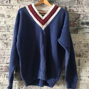 Vintage 80s/90s Claiborne V neck sweater